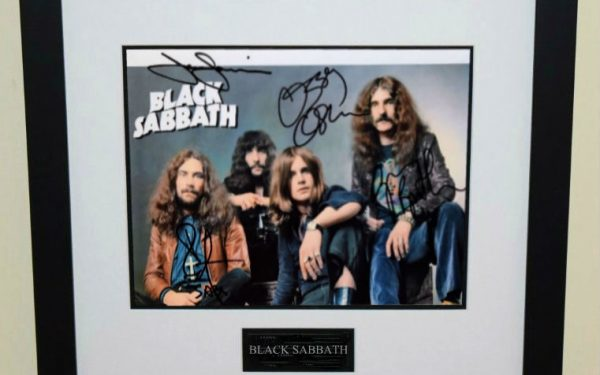 #1-Black Sabbath Signed 8×10 Photograph
