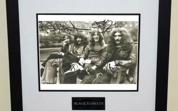 #2-Black Sabbath Signed 8×10 Photograph