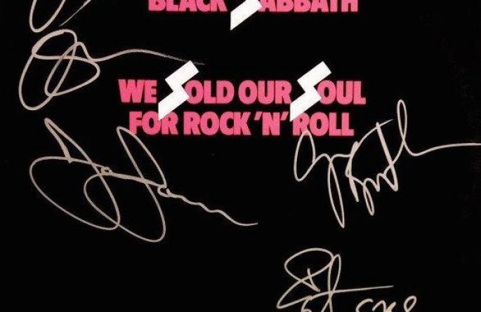 Black Sabbath – We Sold Our Soul For Rock N' Roll