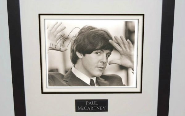 #6-Paul McCartney Signed 8×10 Photograph