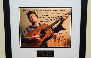 #1-Bob Dylan Signed Photograph