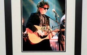 #2-Bob Dylan Signed Photograph