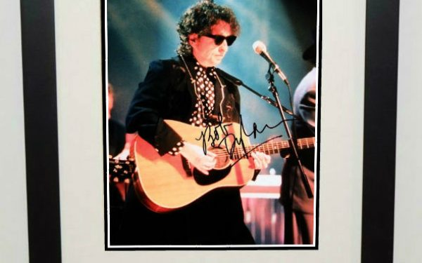 #2-Bob Dylan Signed 8×10 Photograph