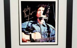 #13-Bob Dylan Signed 8×10 Photograph