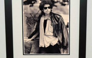 #3-Bob Dylan Signed 8×10 Photograph