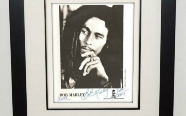 Bob Marley Signed 8×10 Photograph