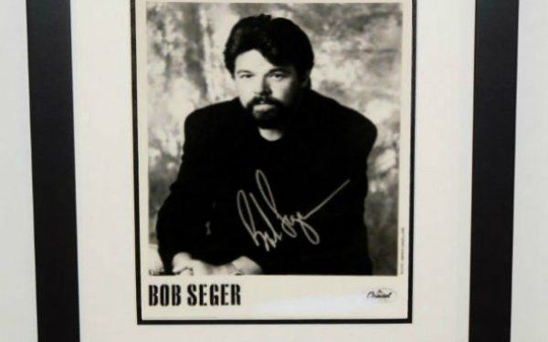 #2-Bob Seger Signed 8×10 Photograph