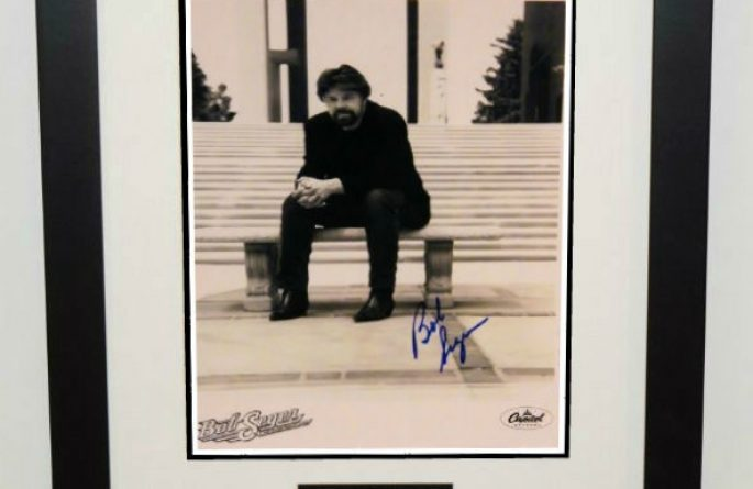 #1-Bob Seger Signed Photograph