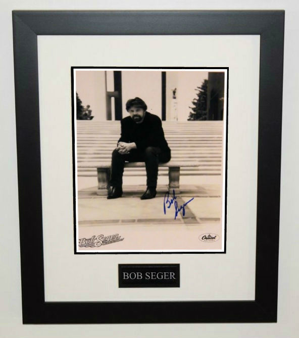 bob seger  hand signed 8 u00d710 photo  rock star galleryrock