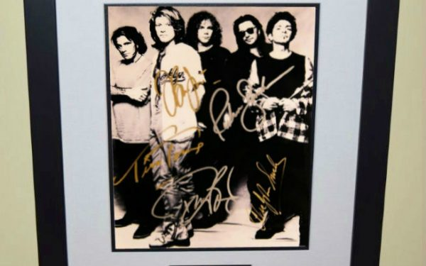 #2-Bon Jovi Signed 8×10 Photograph