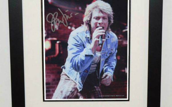 #4-Bon Jovi Signed 8×10 Photograph