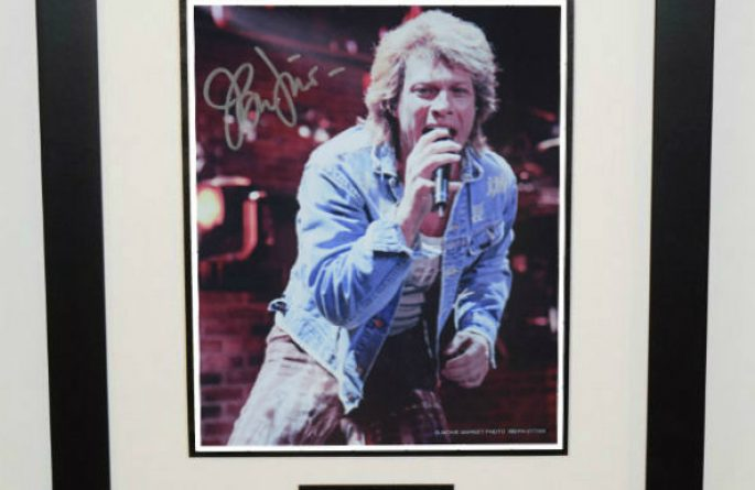 #4-Bon Jovi Signed 8×10 Photograph