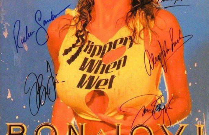 #5-Bon Jovi Signed Tour Book
