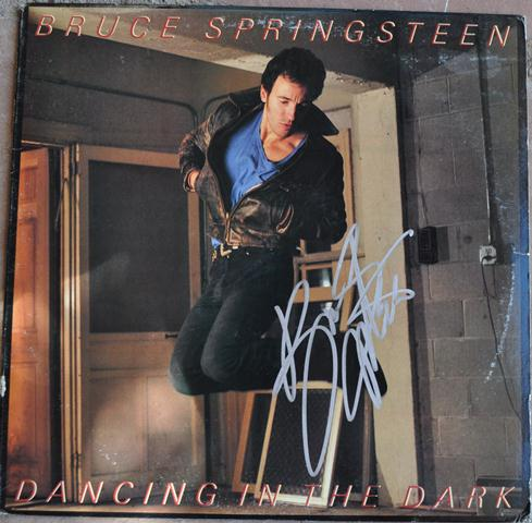bruce springsteen dancing in the dark rock star gallery hand signed collectiblesrock star gallery. Black Bedroom Furniture Sets. Home Design Ideas