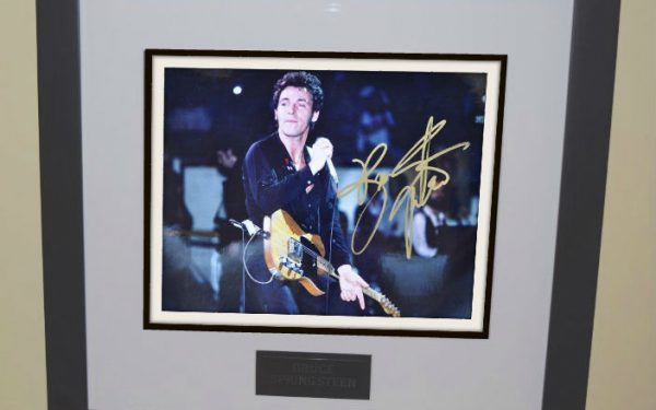 #10 Bruce Springsteen Signed 8×10 Photograph