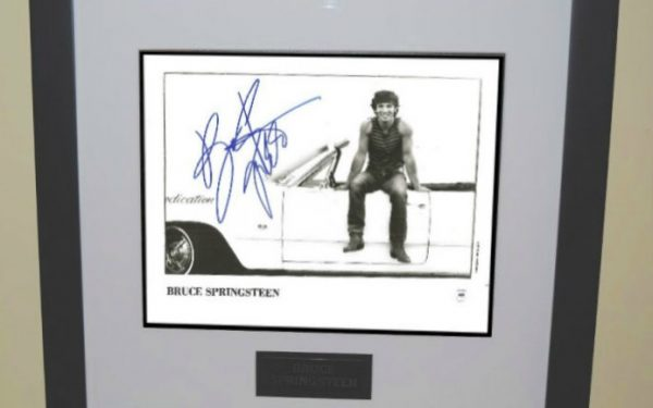 #8 Bruce Springsteen Signed 8×10 Photograph