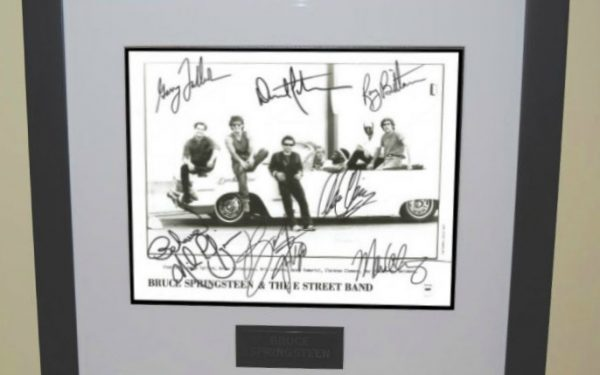 #7-Bruce Springsteen Signed 8×10 Photograph