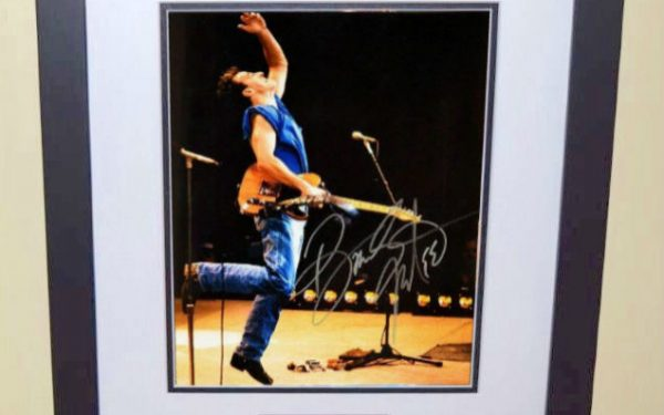#3 Bruce Springsteen Signed 8×10 Photograph