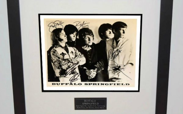 Buffalo Springfield Signed 8×10 Photograph