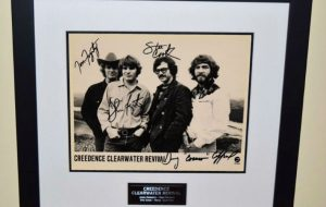 #2-Creedence Clearwater Revival Signed Photograph