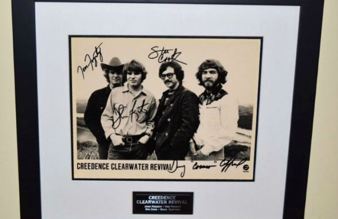 #2-Creedence Clearwater Revival Signed 8×10 Photograph
