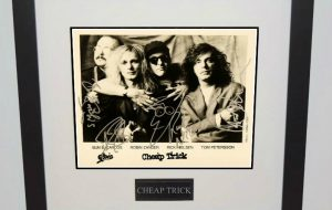 #2-Cheap Trick Signed 8×10 Photograph