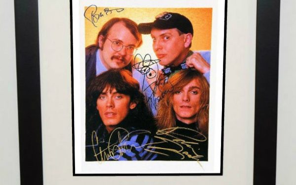 #1-Cheap Trick Signed 8×10 Photograph