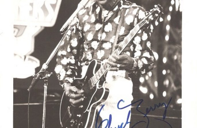 #1-Chuck Berry Signed 8×10 Photograph