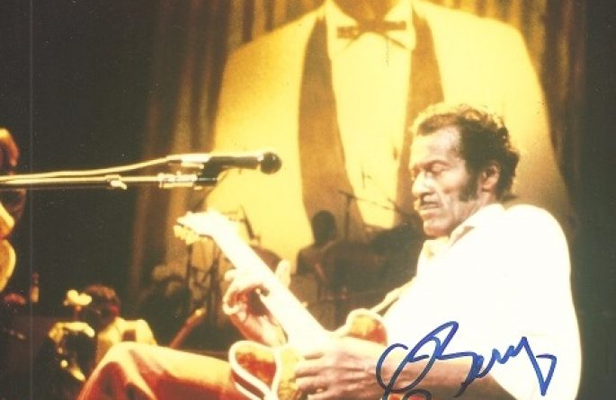#2-Chuck Berry Signed 8×10 Photograph