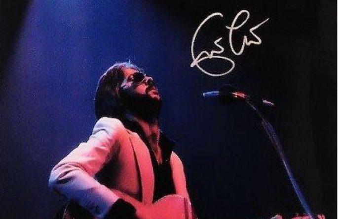 #3-Eric Clapton Signed 8×10 Photograph