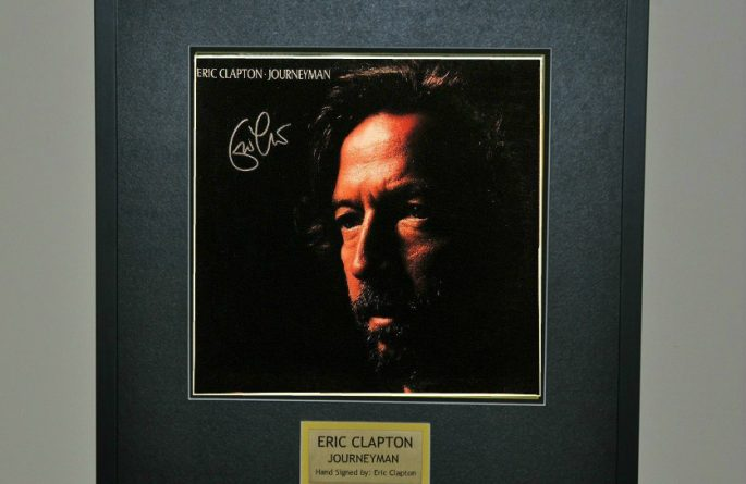 eric clapton journeyman rock star gallery hand signed collectiblesrock star gallery. Black Bedroom Furniture Sets. Home Design Ideas