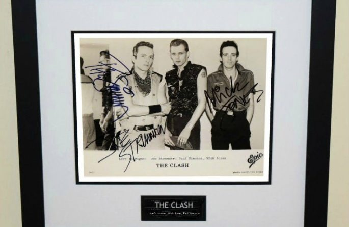 #2-Clash Signed 8×10 Photograph