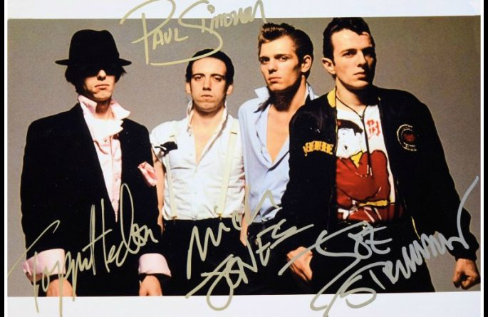 The Clash Signed Photograph