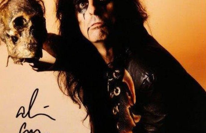 #1-Alice Cooper Signed 8×10 Photograph