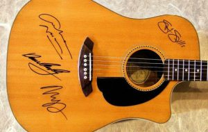 Crosby, Stills, Nash and Young Fender Acoustic Guitar