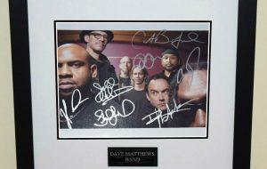 #2-Dave Matthews Band Signed Photograph