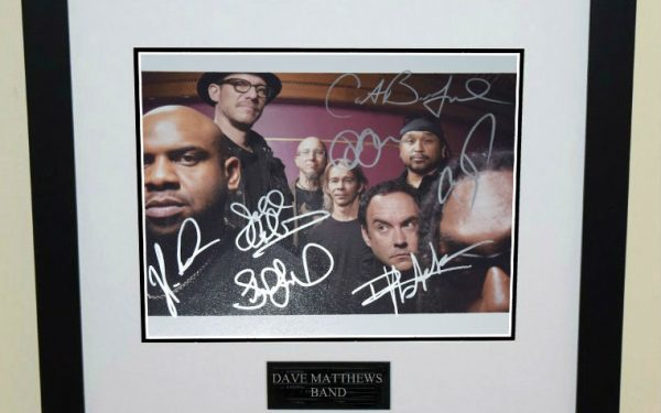 #2-Dave Matthews Band Signed 8×10 Photograph