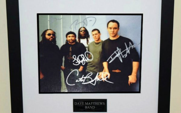 #1-Dave Matthews Band Signed Photograph