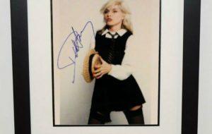 Deborah Harry Signed Photograph