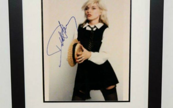 Deborah Harry Signed Photograph
