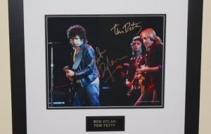 #9-Bob Dylan & Tom Petty Signed Photograph