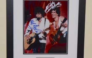 #10-Bob Dylan & Keith Richards Signed Photograph