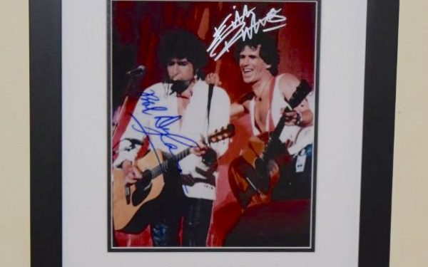 #10-Bob Dylan & Keith Richards Signed 8×10 Photograph