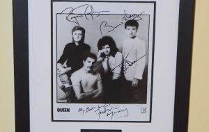 #1-Queen Signed 8×10 Photograph