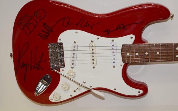 #2 Pink Floyd Red Fender Stratocaster