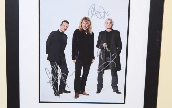 #2-Led Zeppelin 8×10 Signed Photograph