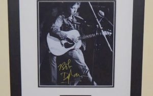 #5-Bob Dylan Signed 8×10 Photograph