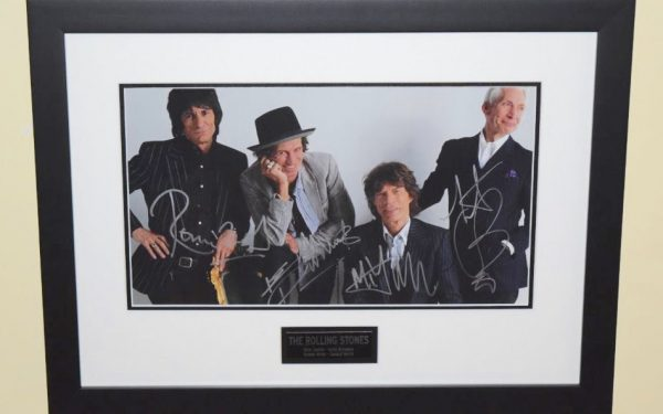 #6-The Rolling Stones Signed 11×14 Photograph