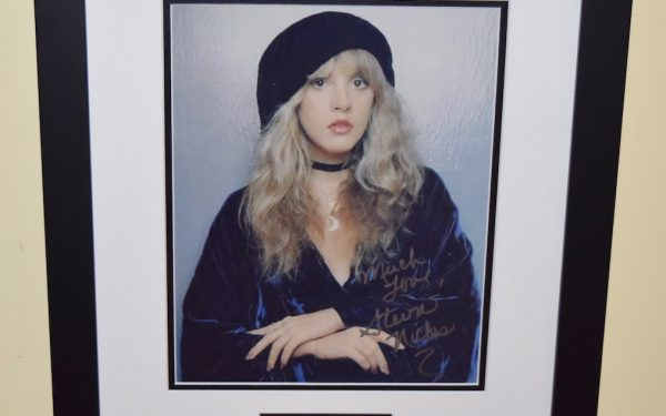 #1-Stevie Nicks Signed Photograph