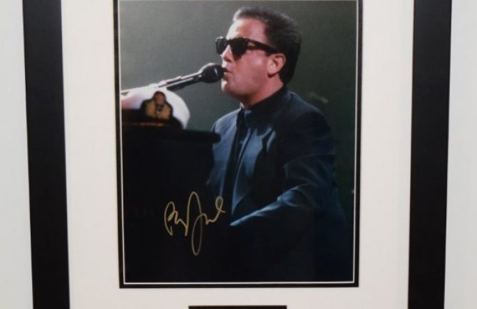 #1-Billy Joel Signed 8×10 Photograph